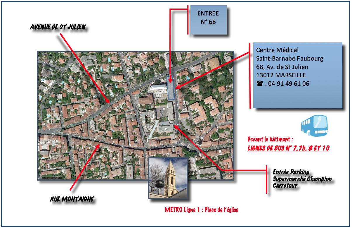 Plan aerien metro cabinet