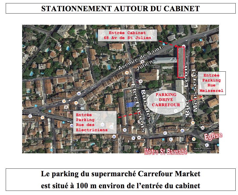 Stationnnement cabinet